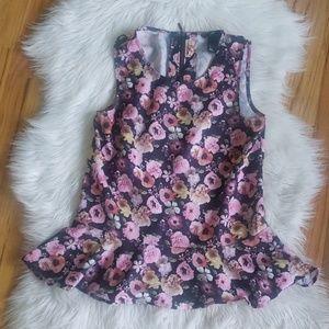 H & M | floral blouse 6